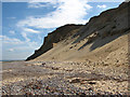 TG1843 : Sliding cliffs at West Runton : Week 36