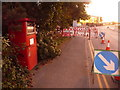 SZ0193 : Fleetsbridge: postbox № BH17 207, Nuffield Road by Chris Downer