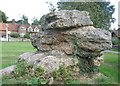 SP8904 : Hertfordshire Puddingstone, Lee, Buckinghamshire by Gerald Massey