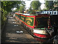 TQ2581 : Narrowboat on the Grand Union Canal, Paddington Branch by Oast House Archive