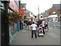 SU6505 : An equine presence in Cosham High Street by Basher Eyre