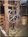 TQ7458 : Hop Press of the Oast House at The Museum of Kent Life by Oast House Archive