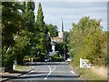 SU9182 : St. Nicholas church Taplow from Boundary Road by Kevin White