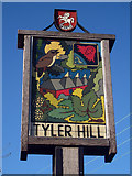 TR1460 : Tyler Hill Village Sign by Oast House Archive