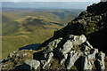 SH8622 : View from Aran Fawddwy by Philip Halling