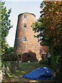 TM5197 : Blundeston Mill / Mill House by Evelyn Simak