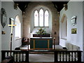 SP1039 : St. Peter's church, Willersey - interior by Jonathan Billinger