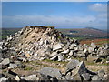SX2670 : Spoil heap at Caradon Hill quarry by Rod Allday