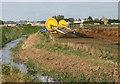 TL6484 : Irrigation equipment beside Mildenhall Drain by Evelyn Simak