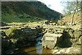 SD9935 : Brontë Bridge by Richard Buck