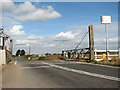 TL6484 : View north along Mildenhall Road (A1101) by Evelyn Simak