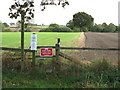 SJ6980 : Footpath Closed Until July 2010 by Peter Whatley