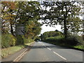 SJ6983 : A50 Approaching High Legh by Peter Whatley