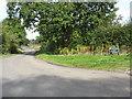 SJ7083 : Broadoak Lane Meets Wrenshot Lane by Peter Whatley