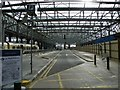 NS5865 : Former car park at Glasgow Central by Thomas Nugent