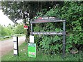 SP8910 : Mountain Bike Area Sign, Aston Hill by Chris Reynolds