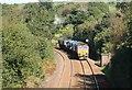 SX0955 : Rail head  cleaning train by roger geach