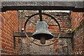 TL9149 : Cemetery Chapel Bell - Lavenham : Week 41