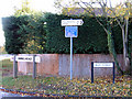 TL0565 : Village signs, Swineshead, Beds by Rodney Burton