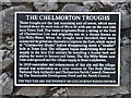 SK1170 : The Chelmorton Troughs (sign) by Oliver Hunter