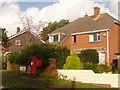 SY9890 : Hamworthy: postbox № BH15 248, Napier Road by Chris Downer
