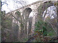 NS7358 : Railway Viaduct over the South Calder Water by G Laird
