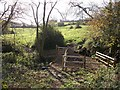 SP1619 : New fence, new gate by Michael Dibb