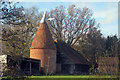 TQ9037 : Unconverted Oast House at Church Farm, Church Hill, High Halden, Kent by Oast House Archive