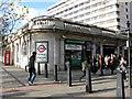 TQ3180 : Temple Underground station : Week 47