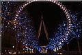 TQ3080 : London Eye at night : Week 48