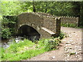 SS6548 : Bridge over the River Heddon by Philip Halling