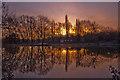 SJ6475 : Crisp Morning Reflection by Tim Fields