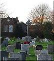 TQ7871 : War Memorial, Hoo St Werburgh Parish Church by N Chadwick
