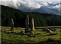 NM4357 : Glengorm Standing Stones : Week 48