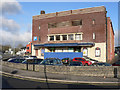 SS9079 : Old cinema on Brewery Lane - Bridgend by Mick Lobb