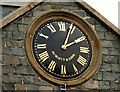 J3652 : Clock, Ballynahinch (2) by Albert Bridge