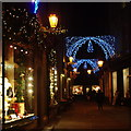TL4458 : Christmas Lights in Rose Crescent by Fractal Angel