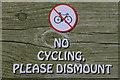 NT2573 : No Cycling at the Christmas Market : Week 49