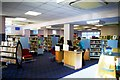 TL4651 : Interior of Great Shelford Library by Tiger