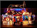 SU1783 : House at Yuletide, Cranmore Avenue, Swindon (1) : Week 49