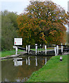 SK4530 : Derwent Mouth Lock near Shardlow, Derbyshire by Roger  Kidd