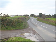 SW7643 : The road from Baldhu to Chacewater by Rod Allday