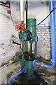 SD8746 : Weir pump, Bancroft Mill by Chris Allen
