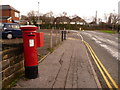 SZ0292 : Oakdale: postbox № BH15 25, Dale Road by Chris Downer