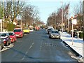 SE2437 : Alexandra Road, Horsforth, Christmas Day by Rich Tea