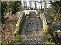 SJ4765 : Ancient bridges at Hockenhull Platts by Colin Park
