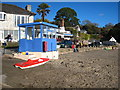 SW7626 : Ferry kiosk at Helford Passage by Rod Allday