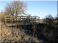 TL1281 : Bridleway bridge by Michael Trolove