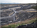 SX8476 : North side of Newbridge ball clay quarry by Robin Stott