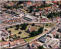 TQ8187 : Aerial view of Hadleigh town centre by Edward Clack